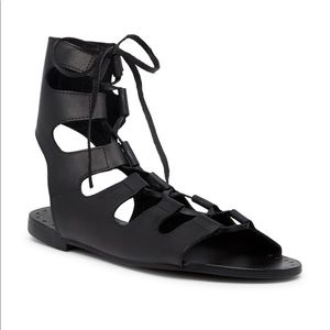 Sol Sana Tay Sandal In Black Leather